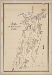 Map of the town of Weymouth, Mass