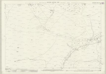 Devon CVII.10 (includes: Lydford) - 25 Inch Map