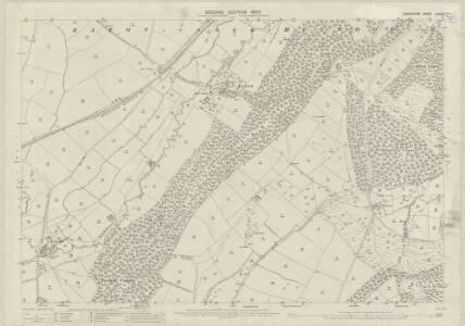 Shropshire LXIV.3 (includes: Diddlebury; Eaton Under Haywood; Munslow) - 25 Inch Map
