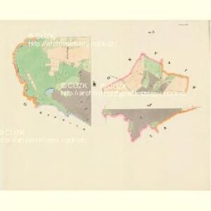 Komarzitz - c3302-1-006 - Kaiserpflichtexemplar der Landkarten des stabilen Katasters