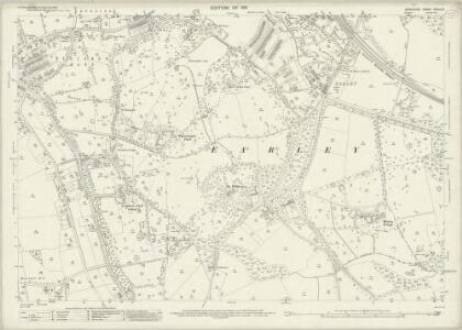 Berkshire XXXVII.8 (includes: Earley; Reading; Woodley and Sandford) - 25 Inch Map
