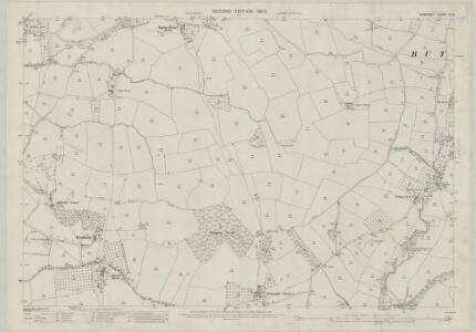 Somerset XI.15 (includes: Blagdon; Butcombe; Wrington) - 25 Inch Map