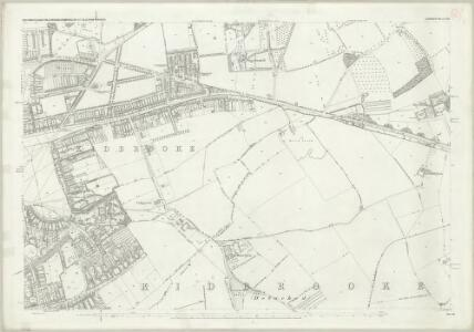 London (First Editions c1850s) LXX (includes: Borough Of Greenwich) - 25 Inch Map