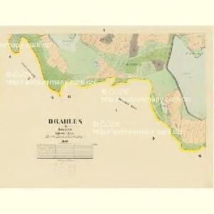 Drahles - c1503-1-005 - Kaiserpflichtexemplar der Landkarten des stabilen Katasters