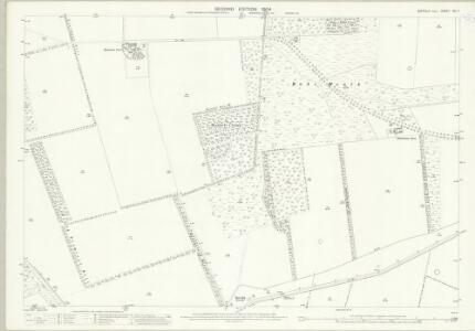 Suffolk XXI.7 (includes: Eriswell; Icklingham) - 25 Inch Map