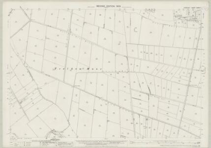 Somerset XXXIX.7 (includes: Mark; Wedmore) - 25 Inch Map
