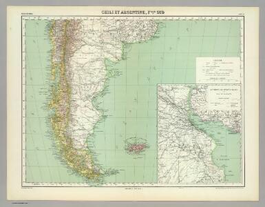 Chili et Argentine, Flle. Nord.