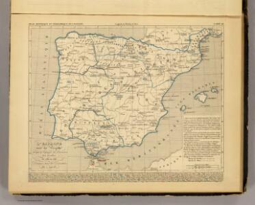 L'Espagne 585 a 756.