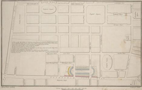 A plan of the City's Estate in Tottenham Court Road
