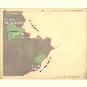 Passeken - c5642-1-013 - Kaiserpflichtexemplar der Landkarten des stabilen Katasters