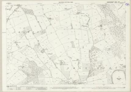 Worcestershire XXVI.6 (includes: Bockleton; Hampton Charles; Thornbury) - 25 Inch Map