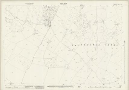 Anglesey XIV.12 (includes: Llanddona; Llaniestyn Rural; Llaniestyn Urban) - 25 Inch Map