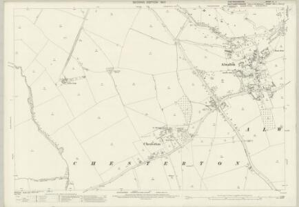 Huntingdonshire V.1 (includes: Alwalton; Castor; Chesterton; Elton; Water Newton) - 25 Inch Map