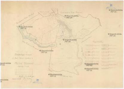 Přehledná mapa st. lesů lesní správy v Nižní Užčorné
