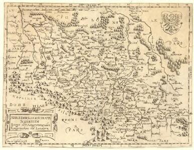 Abris der Landschafft Schlesien