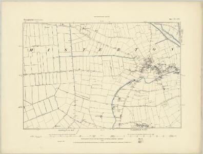 Nottinghamshire III.NE - OS Six-Inch Map