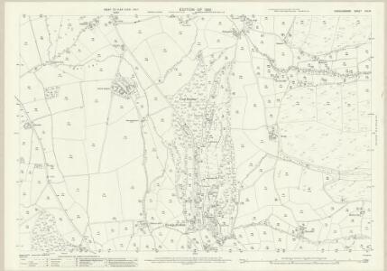 Denbighshire XIX.16 (includes: Llanfair Dyffryn Clwyd Rural) - 25 Inch Map