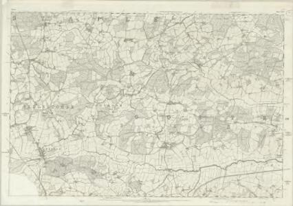Sussex XLIV - OS Six-Inch Map