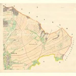 Nebes (Nedwezy) - m1944-1-002 - Kaiserpflichtexemplar der Landkarten des stabilen Katasters