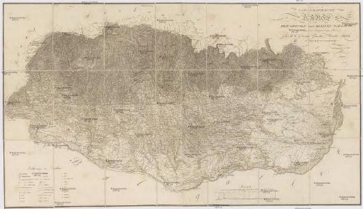 Topographische Karte der Grossen und Kleinen Wallachey