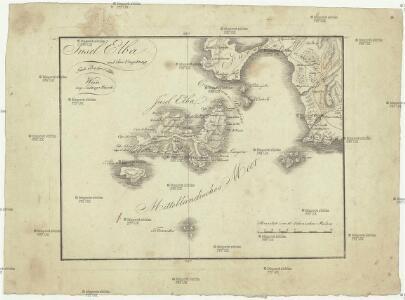 Insel Elba und ihre Umgebung