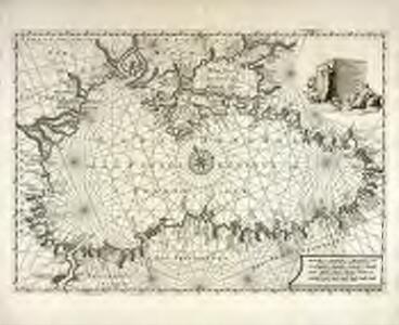 Pontus Euxinus of Niewe en naaukeurige paskaart van de Zwarte Zee