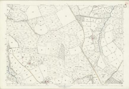 Devon LXIV.7 (includes: Hatherleigh; Inwardleigh; Jacobstowe) - 25 Inch Map