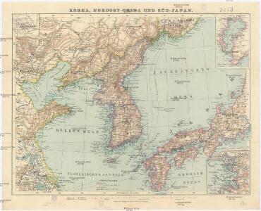 Korea, Nordost-China und Süd-Japan