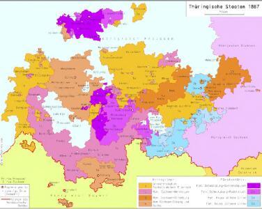 Thüringische Staaten 1867