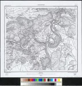 Meßtischblatt (8317) : Jestetten, 1879