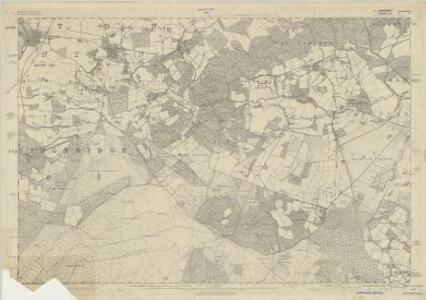 Hampshire & Isle of Wight LV - OS Six-Inch Map