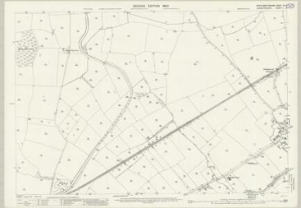 Northamptonshire XV.9 (includes: Husbands Bosworth; Theddingworth) - 25 Inch Map