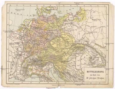 Mitteleuropa am Ende des 30 jährigen Krieges