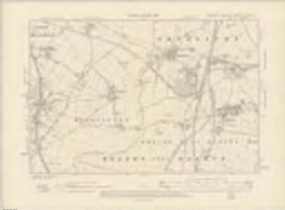 Yorkshire CCLXXV.SE - OS Six-Inch Map