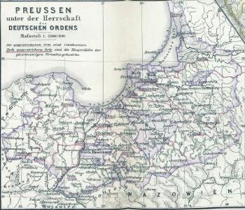 Preussen unter der Herrschaft des Deutschen Ordens