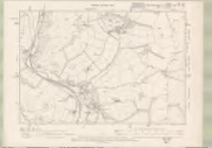 Berwickshire Sheet XIX.SW - OS 6 Inch map