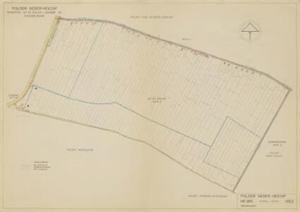 Polder Neder-Heicop, gemeente Hei- en Boeicop, Lexmond en Schoonrewoerd.