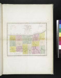 Map of the county of Wayne / by David H. Burr; engd. by Rawdon, Clark & Co., Albany, & Rawdon, Wright & Co., N.Y.; An atlas of the state of New York, designed for the use of engineers, containing a map of the state and of the several counties. / Projected and drawn ... under the superintendence and direction of Simeon de Witt.