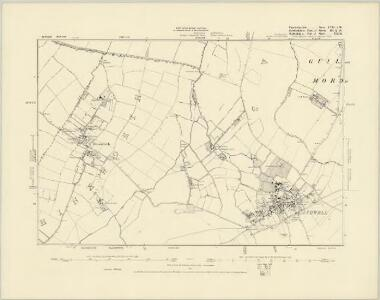 Cambridgeshire LII.NW - OS Six-Inch Map