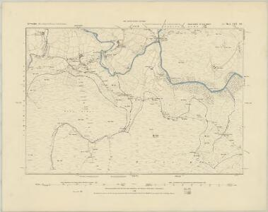 Devonshire CVII.SW - OS Six-Inch Map
