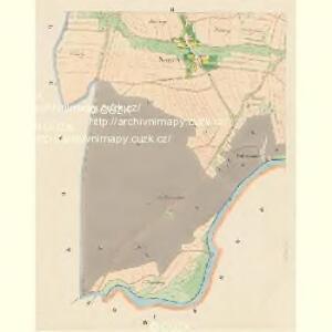 Sennetz (Senec) - c6840-1-002 - Kaiserpflichtexemplar der Landkarten des stabilen Katasters