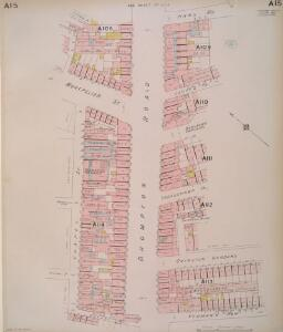 Insurance Plan of London West Vol. A: sheet 15