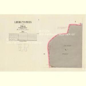 Liebenstein - c3972-2-001 - Kaiserpflichtexemplar der Landkarten des stabilen Katasters