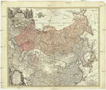 Imperii Russici et Tatariae universae tam majoris et Asiaticae, qvam minoris et Europaeae tabvla