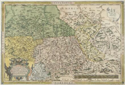Saxoniae Misniae, Thvringiae, Nova Exactissimaque Descriptio