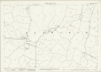 Kent LXXXII.1 (includes: Burmarsh) - 25 Inch Map