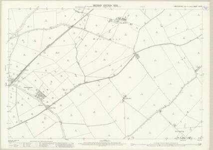 Lincolnshire LXIII.6 (includes: Langton by Wragby; Panton; Wragby) - 25 Inch Map