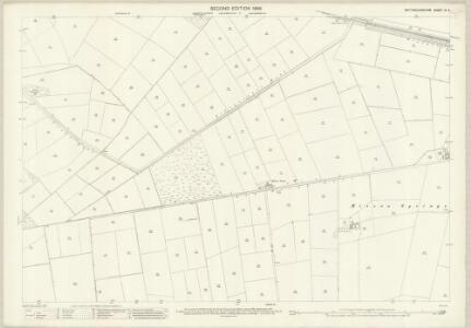 Nottinghamshire III.3 (includes: Finningley; Misson) - 25 Inch Map