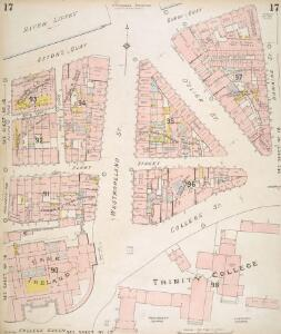 Insurance Plan of the City of Dublin Vol. 1: sheet 17