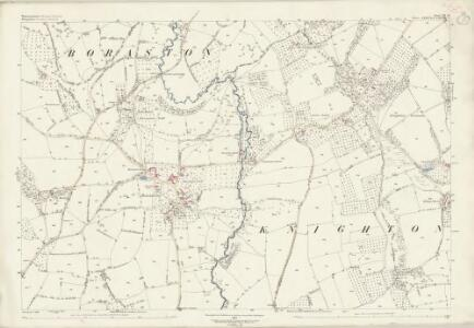 Worcestershire XII.14 (includes: Boraston; Kington on Teme) - 25 Inch Map
